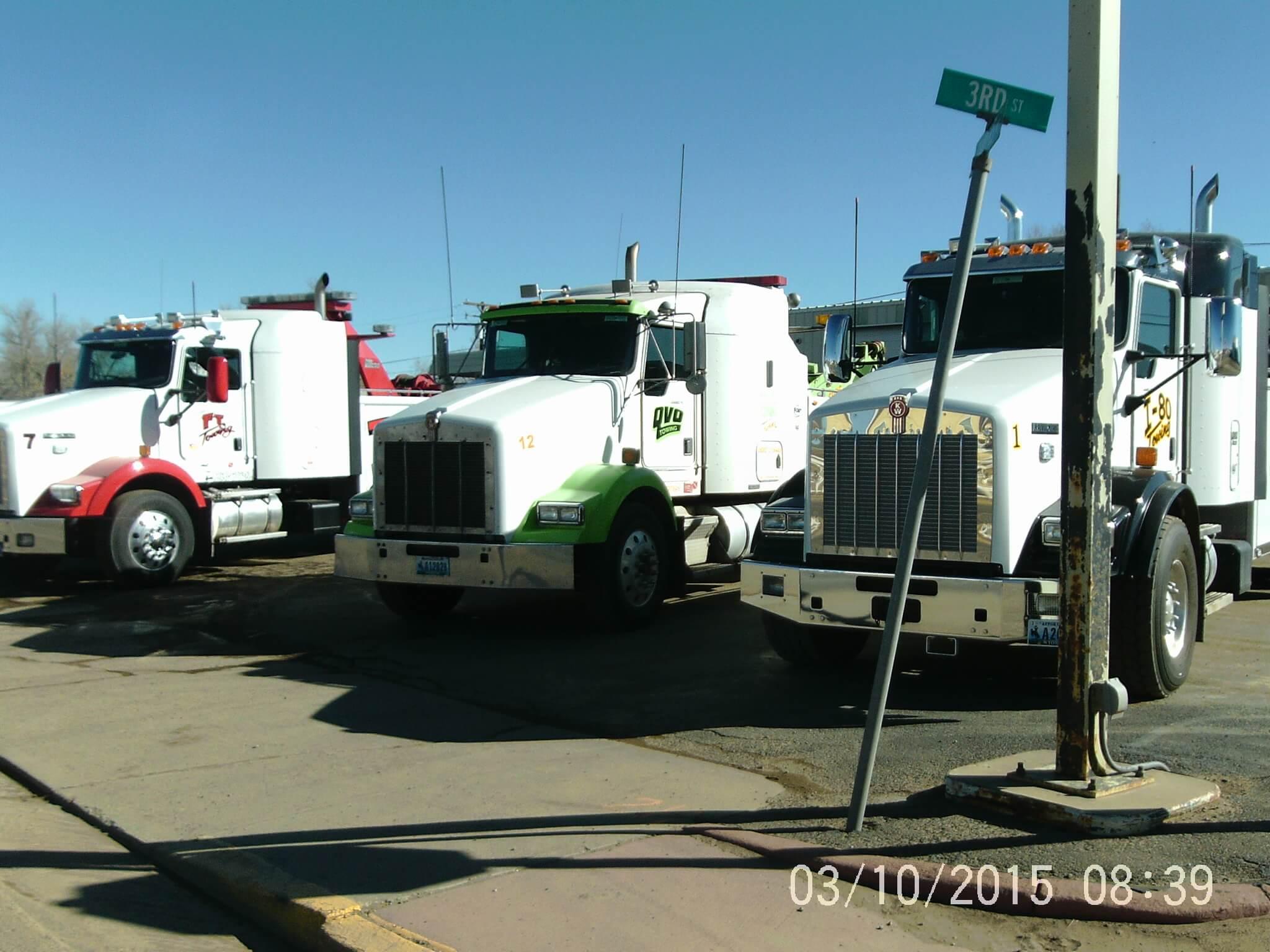I-80 Towing Fleet